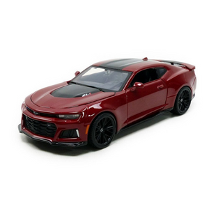 Maisto Kruzerz 1:24 Scale Red Black 2017 Camaro ZL1 Die-Cast Car by Maisto