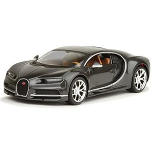 Maisto Kruzerz 1:24 Scale Grey Bugatti Chiron Die-Cast Car by Maisto