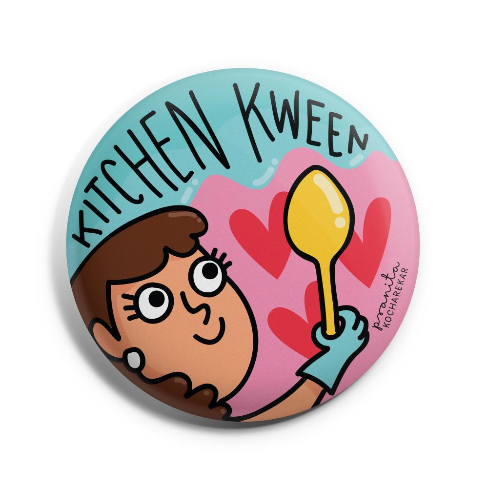 Kitchen Kween Badge -Pranita Kocharekar - India - www.superherotoystore.com