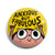 Anxious But Fabulous Badge -Pranita Kocharekar - India - www.superherotoystore.com