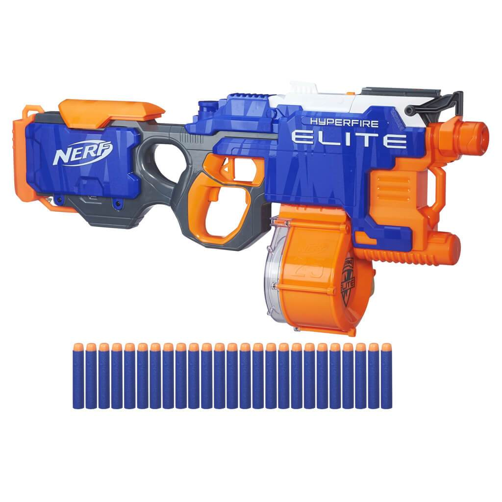 Nerf N-Strike Elite HyperFire Blaster by Hasbro