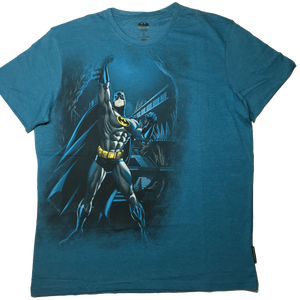 Batman Blue Moon T-Shirt-Bio World- www.superherotoystore.com-T-Shirt
