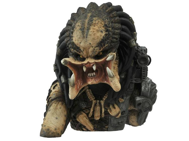 Predator Unmasked Bust Bank by Diamond Select Toys-Diamond Select toys- www.superherotoystore.com-Bust Bank