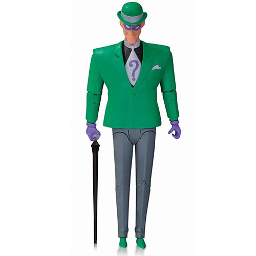 Batman Animated Series: Riddler Action Figure by DC Collectibles-DC Collectibles- www.superherotoystore.com-Action Figure - 1
