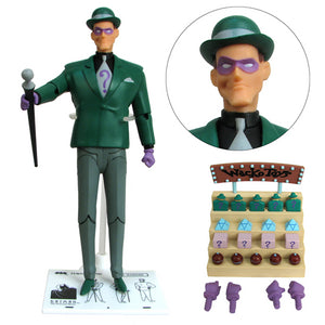 Batman Animated Series: Riddler Action Figure by DC Collectibles-DC Collectibles- www.superherotoystore.com-Action Figure - 2