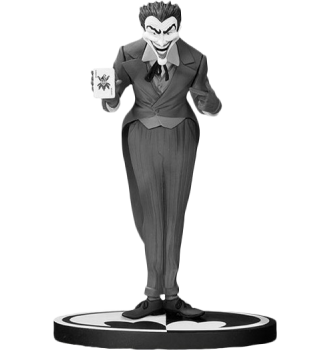 Batman Black and White Joker Statue by DC Collectibles-DC Collectibles- www.superherotoystore.com-Statue - 1
