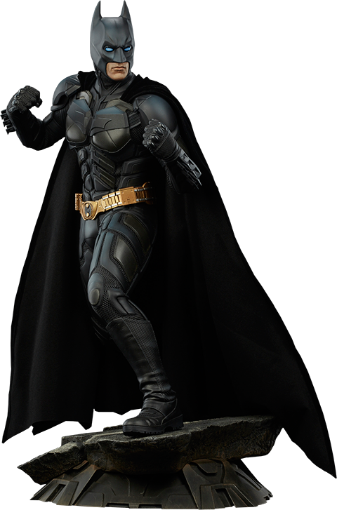 Batman Dark Knight Premium Format Figure by Sideshow Collectibles-Sideshow Collectibles- www.superherotoystore.com-Statue - 1
