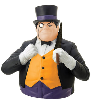 Batman Penguin Bust Bank-Monogram International- www.superherotoystore.com-Bust Bank