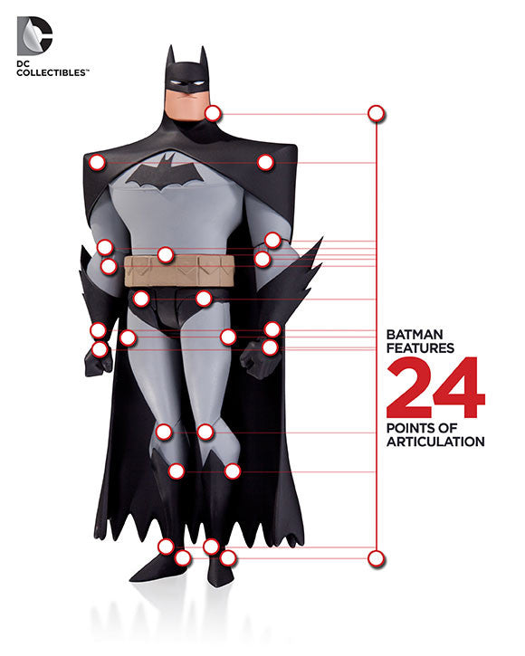 Batman: The Animated Series - Batman Action Figure by DC Collectibles-DC Collectibles- www.superherotoystore.com-Action Figure - 2