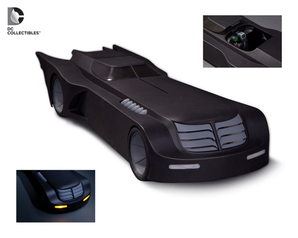 Batman The Animated Series Batmobile Vehicle with Lights-DC Collectibles- www.superherotoystore.com-Action Figure - 1