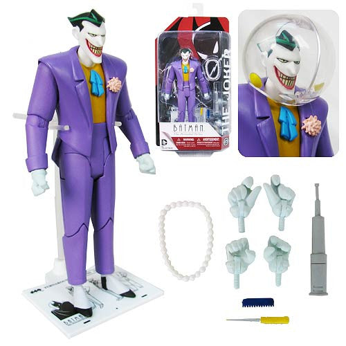 Batman - The Animated Series The Joker by DC Collectibles-DC Collectibles- www.superherotoystore.com-Action Figure - 2