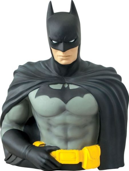 Batman Bust Bank by Monogram-Monogram International- www.superherotoystore.com-Bust Bank