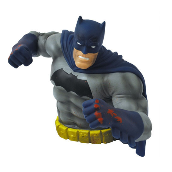 SDCC Exclusive Batman Dark Knight Rises Bust Bank by Monogram -Monogram International - India - www.superherotoystore.com