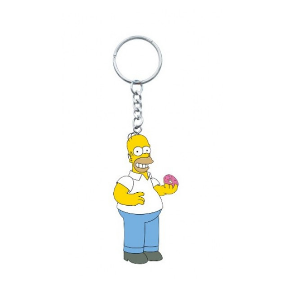 Homer Simpsons Figural Keychain by Monogram International -Monogram International - India - www.superherotoystore.com