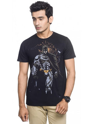Batman Dark Knight Returns Black T-Shirt by Bio World-Bio World- www.superherotoystore.com-T-Shirt - 1