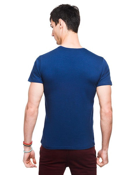 Civil War Capt America Dress Blue Half Sleeve T-Shirt by Bio World-Bio World- www.superherotoystore.com-T-Shirt - 3