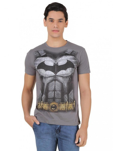 Batman Dark Grey T-Shirt by Bio World-Bio World- www.superherotoystore.com-T-Shirt - 1