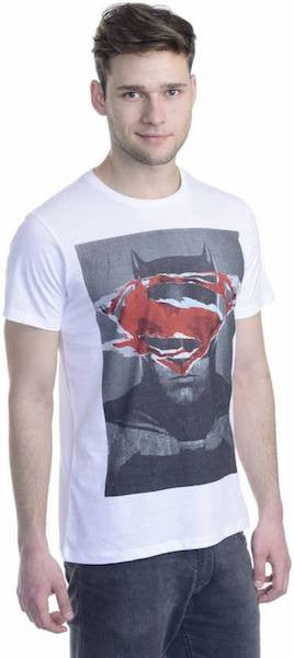 Dawn of Justice White T-Shirt by Bio World -Bio World - India - www.superherotoystore.com