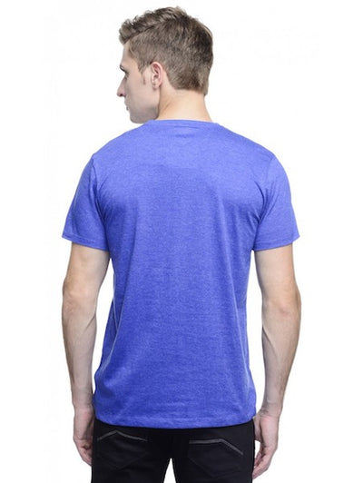 Ghostbusters Royal Blue Melange Crew Neck Half Sleeve T-Shirt by Bio World-Bio World- www.superherotoystore.com-T-Shirt - 3