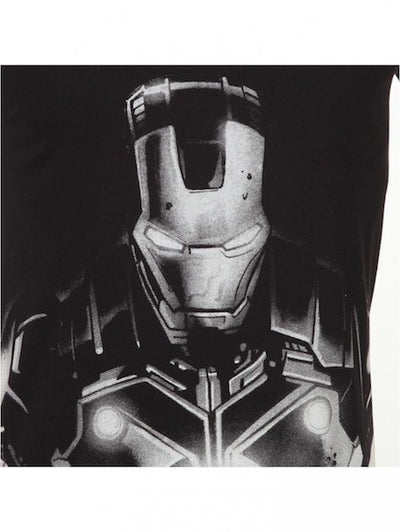 Invincible Iron Man Black Half Sleeve T-Shirt by Bio World -Bio World - India - www.superherotoystore.com
