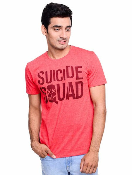 Suicide Squad Red Alert Half Sleeve T-Shirt by Bio World-Bio World- www.superherotoystore.com-T-Shirt - 1