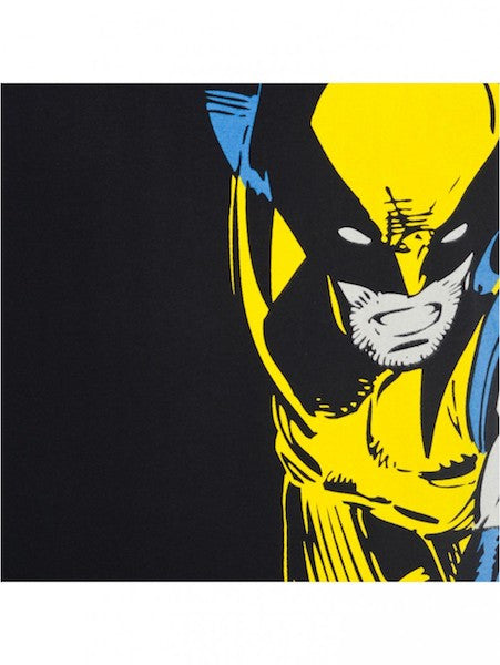 Wolverine Black Half Sleeve T-Shirt by Bio World-Bio World- www.superherotoystore.com-T-Shirt - 2