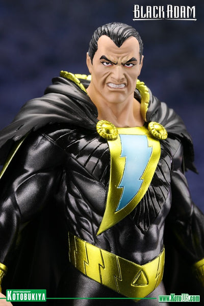 DC Comics New 52 Black Adam ArtFX 1/10th Scale Statue by Kotobukiya-Kotobukiya- www.superherotoystore.com-Statue - 1