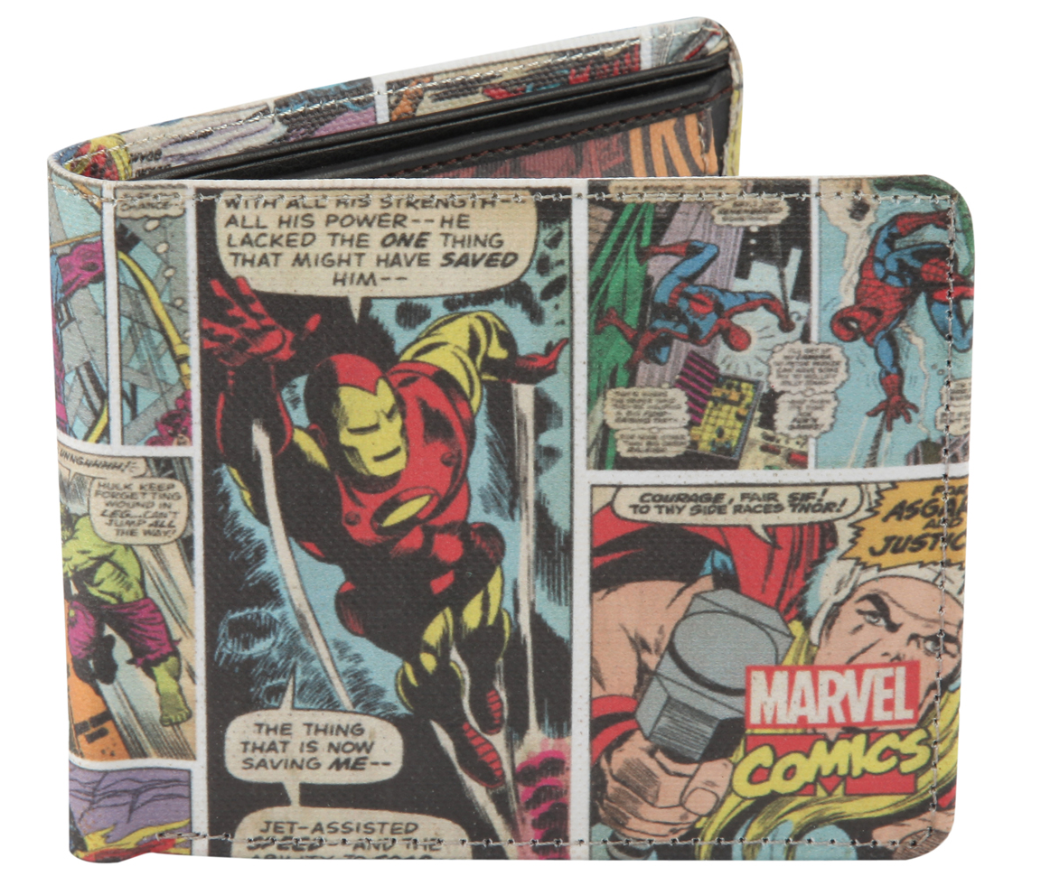 Avengers College Bi-Fold Wallet -Bombaymerch - India - www.superherotoystore.com