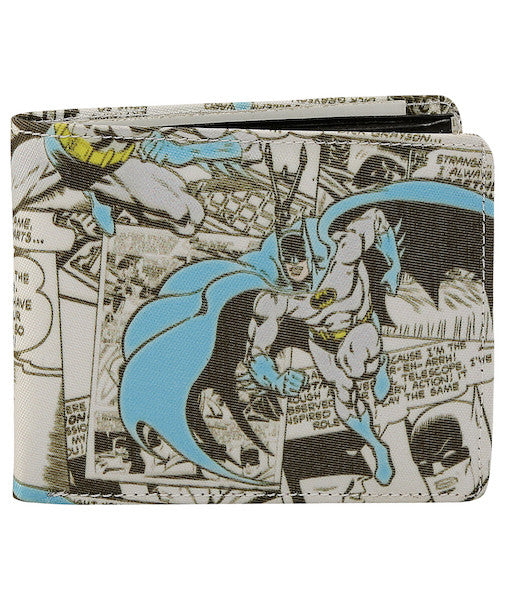 Batman Script Bi-Fold Wallet by Bombay Merch