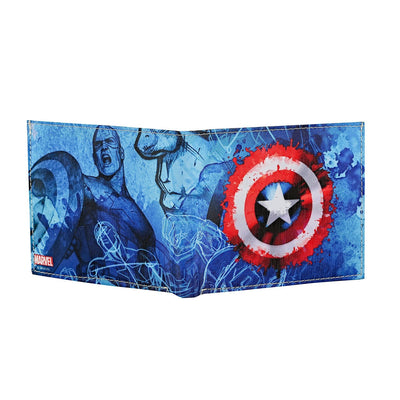 Captain America - Avengers - Bi-Fold Wallet -Bombaymerch - India - www.superherotoystore.com