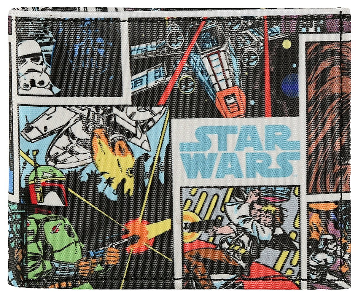 Star Wars Collage Bi-Fold Wallet -Bombaymerch - India - www.superherotoystore.com