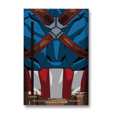 Captain America Harbound Notebook -Entertainment Store - India - www.superherotoystore.com