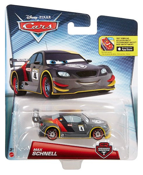 Carbon Racers Max Schnell Car by Mattel