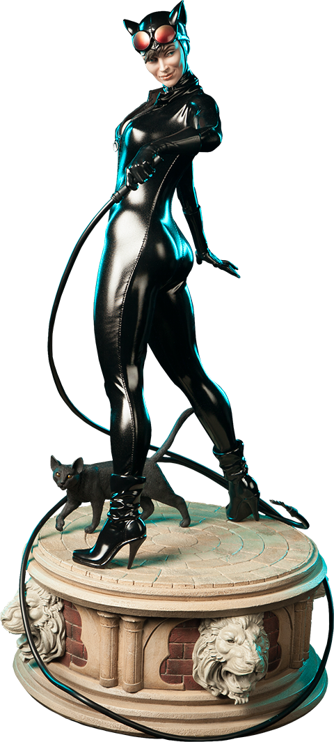 Catwoman 1/4th Scale Premium Format Figure by Sideshow Collectibles-Sideshow Collectibles- www.superherotoystore.com-Statue - 1