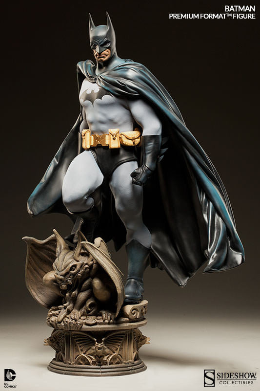 DC Comics: Batman 1.4th Scale Premium Format Figure by Sideshow Collectibles-Sideshow Collectibles- www.superherotoystore.com-Statue - 2