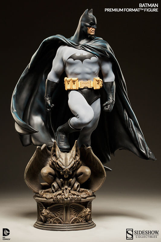 DC Comics: Batman 1.4th Scale Premium Format Figure by Sideshow Collectibles-Sideshow Collectibles- www.superherotoystore.com-Statue - 4