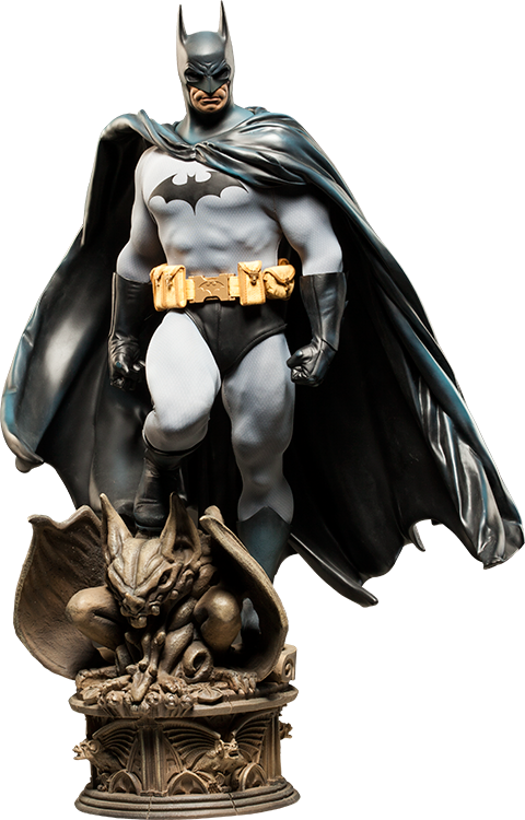 DC Comics: Batman 1.4th Scale Premium Format Figure by Sideshow Collectibles-Sideshow Collectibles- www.superherotoystore.com-Statue - 1