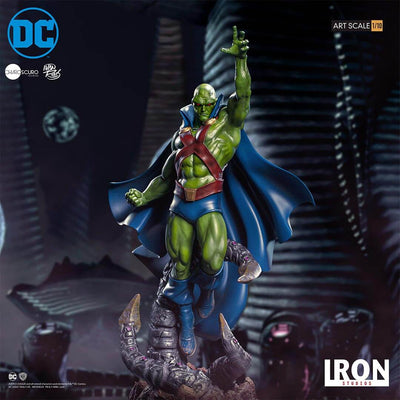 DC Comics Martian Manhunter 1:10th Scale Statue by Iron Studios -Iron Studios - India - www.superherotoystore.com
