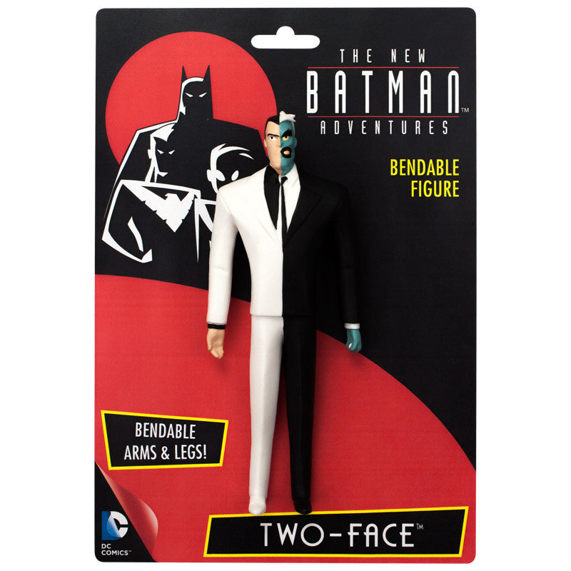 The New Batman Adventures Two Face Bendable Figure-NJ Croce- www.superherotoystore.com-Action Figure