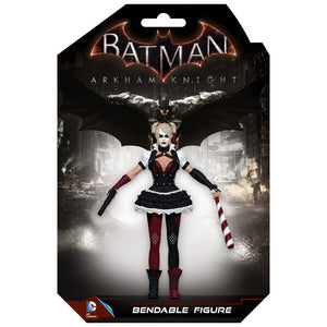 Batman Arkham Knight: Harley Quinn Bendable Figure-NJ Croce- www.superherotoystore.com-Action Figure - 2