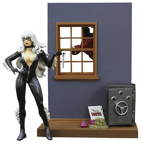 Marvel Select Figure - Black Cat-Diamond Select toys- www.superherotoystore.com-Action Figure