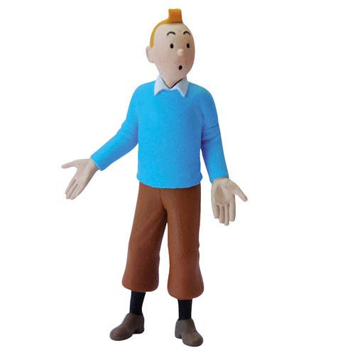 Adventures of Tintin Blue Sweater Tintin Mini Statue -Moulinsart - India - www.superherotoystore.com