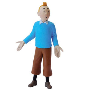 Adventures of Tintin Blue Sweater Tintin Mini Statue-Moulinsart- www.superherotoystore.com-Action Figure