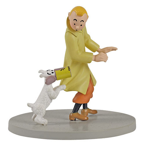 TinTin Box Scene Crab with Golden Claws Statue by Moulinsart-Moulinsart- www.superherotoystore.com-Action Figure