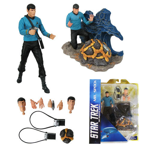 Star Trek Select - Spock Action Figure-Diamond Select toys- www.superherotoystore.com-Action Figure - 5