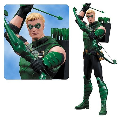 Justice League New 52 Figure - Green Arrow-DC Collectibles- www.superherotoystore.com-Action Figure - 1