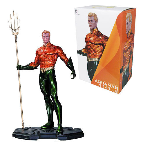 Dc Comics Icons Aquaman 1/6 Scale Statue-DC Collectibles- www.superherotoystore.com-Statue - 1