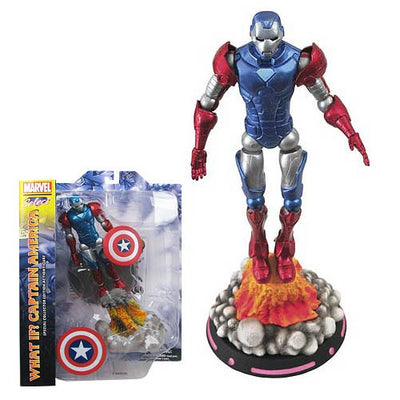 Marvel Select Figure - What If Captain America-Diamond Select toys- www.superherotoystore.com-Action Figure - 2