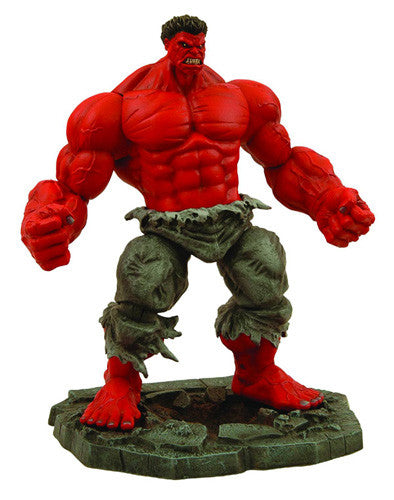 Red Incredible Hulk Action Figure by Diamond Select Toys-Diamond Select toys- www.superherotoystore.com-Action Figure - 1
