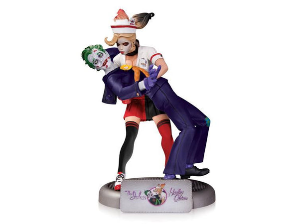 Bombshells Joker & Harley Quinn 2nd Edition Statue by DC Collectibles-DC Collectibles- www.superherotoystore.com-Statue